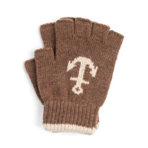 와일드브릭스 WILD BRICKS - LW ANCHOR FINGERLESS GLOVES (camel)