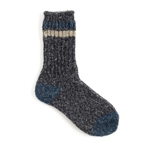 와일드브릭스 WILD BRICKS - AP MELANGE SOCKS (charcoal)