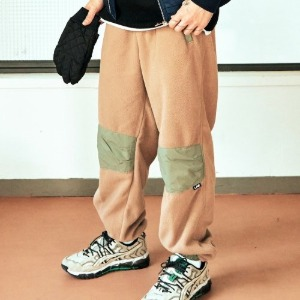 프리키쉬빌딩 - TODDLE FLEECE LONG PANTS (BEIGE)