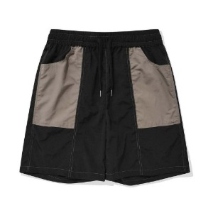 PHOS33 포스333 - Windbreaker Shorts/Black