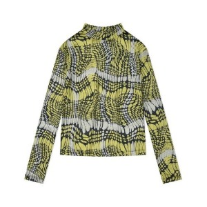 PHOS33 포스333 - Printed Mesh Top/Yellow