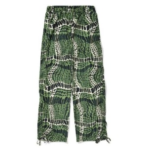 PHOS33 포스333 - Adjustable Side Shirring Pants/Green