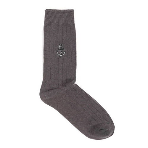 와일드브릭스 WILD BRICKS - ANCHOR SOCKS (grey)