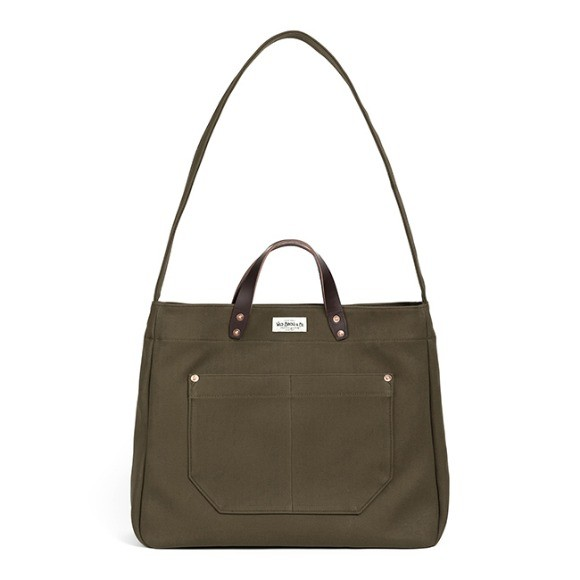 와일드 브릭스 WILD BRICKS - HBT TWO-WAY BAG (khaki)