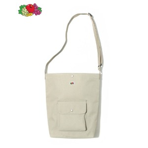 FRUIT OF THE LOOM - BIG POCKET CROSSBAG BEIGE