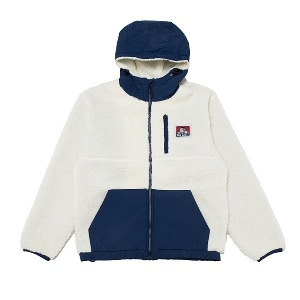 벤데이비스 BEN DAVIS - WHITE LABEL HOODED BOA JACKET WHITE (9780066)