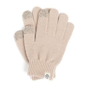 와일드브릭스 WILD BRICKS - AW BASIC TOUCH GLOVES (ivory)