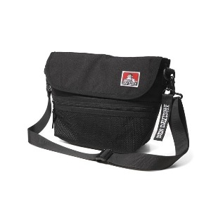 벤데이비스 BENDAVIS - MESH MESSENGER BAG (BDW-9358) BLACK