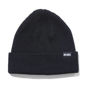 벤데이비스 BENDAVIS - LOW KNIT CAP BLACK (BDW-9532)