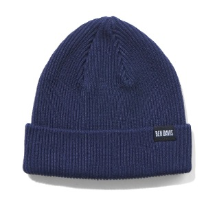 벤데이비스 BENDAVIS - LOW KNIT CAP NAVY (BDW-9532)