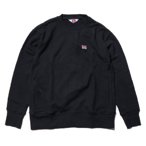 벤데이비스 BENDAVIS - LABEL SWEAT CREW (BDZT-2000) BLACK