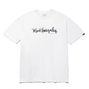마크곤잘레스 - M/G SIGN LOGO T-SHIRTS WHITE