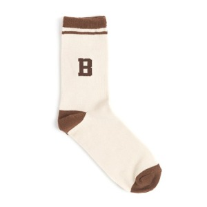 와일드 브릭스 WILD BRICKS - WB TENNIS SOCKS (brown)