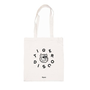바이닉 Vynic - VYNIC X TIGER DISCO CIRCLE LOGO ECO BAG (WHITE)