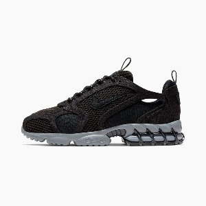 "*국내배송* 나이키 X 스투시 Stüssy x Nike Air Zoom Spiridon Cage 2 ""Black/Cool Grey""l"