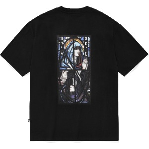 낫포너드 NOT4NERD - Remake Two Virgin Mary T-Shirts Black